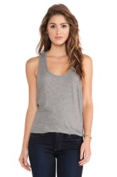 Candc California Double Banded Tank Gray