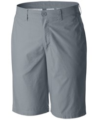 Columbia Men's Cotton Chino Shorts Grey Ash