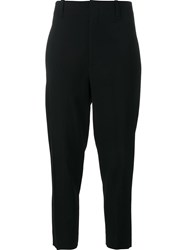 Vince Cropped Trousers Black