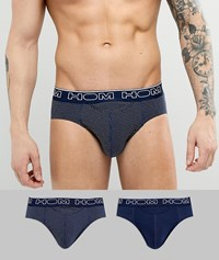 Hom 2 Pack Brief Black