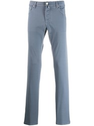 Jacob Cohen Classic Chinos Blue