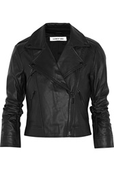 Elizabeth And James Erwan Leather Jacket Black