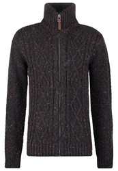 Petrol Industries Cardigan Steel Brown