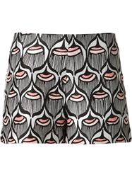 Giamba Graphic Print Shorts