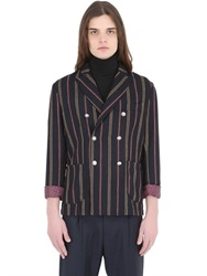 Bob Strollers Bob Striped Wool Jersey Jacket