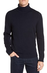 Nordstrom Men's Men's Shop Chunky Turtleneck Sweater Navy Night