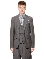 Vivienne Westwood Layered Cool Wool Jacket With Vest