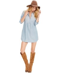 Denim And Supply Ralph Lauren Cotton Linen Shirtdress