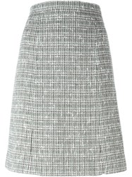 Chanel Vintage Tweed A Line Skirt Multicolour