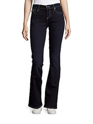 True Religion Becca Standard Fit Denim Pants Dark Blue