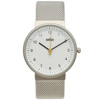 Braun Bn0031 Watch Silver