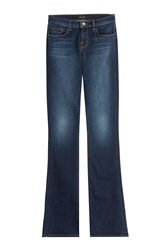 J Brand Jeans Mid Rise Boot Cut Jeans Blue