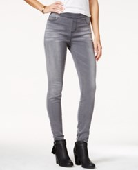 Jessica Simpson Kiss Me Dark Blue Wash Jeggings Charcoal