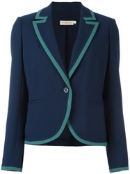 Tory Burch 'Leah' Blazer Blue