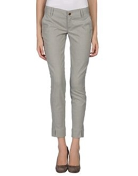 Met And Friends Casual Pants Light Grey