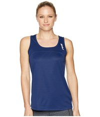 2Xu Xvent Tank Top Navy Navy Sleeveless Blue