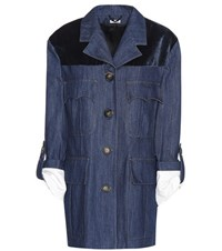 Miu Miu Denim Jacket Blue