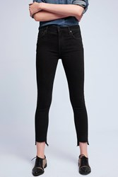 Anthropologie Citizens Of Humanity Rocket High Rise Jeans Black