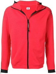 C.P. Company Cp Hooded Jacket Red