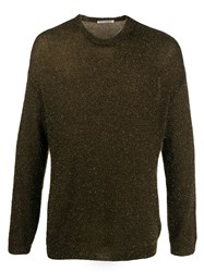 Our Legacy Round Neck Jumper Gold