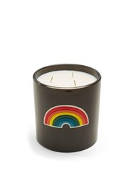 Anya Hindmarch Smells Washing Powder Large Scented Candle Black Multi