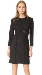 Jason Wu Long Sleeve Dress Black