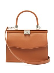 Rodo Paris Medium Leather Bag Tan