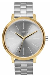 Women's Nixon 'The Kensington' Bracelet Watch 37Mm Silver Gold Silver