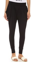 Michi Imperial Harem Pants Black