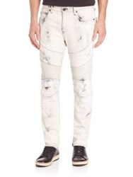 True Religion Rocco Moto Relaxed Skinny Jeans Bronx