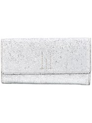 Golden Goose Deluxe Brand Continental Wallet Women Leather One Size Metallic