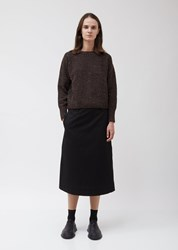 Margaret Howell Donegal Crew Neck Cashmere Sweater Earth