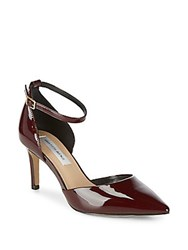 Saks Fifth Avenue Mia Patent Leather D'orsay Pumps Bordeaux