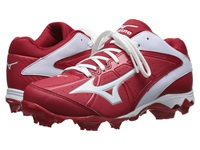 Mizuno 9 Spike Advanced Finch Elite 2 Red White Women's Cleated Shoes