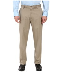 Dockers Signature Stretch Relaxed Flat Front Timberwolf Men's Casual Pants Multi