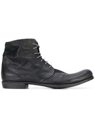 A Diciannoveventitre Lace Up Boots Men Horse Leather Leather 42 Black
