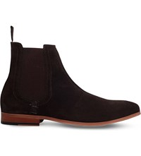 Kg By Kurt Geiger Dizzy Suede Chelsea Boots Brown