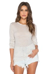 Cp Shades Striped Tee Beige