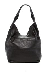 Christopher Kon Unlined Leather Hobo Black