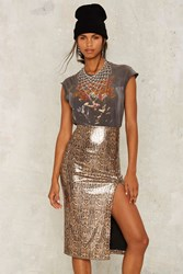 Nasty Gal Collection Dionne Sequin Midi Skirt Anppt