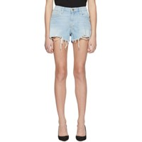 Frame Blue 'Le Grand Garcon' Shorts