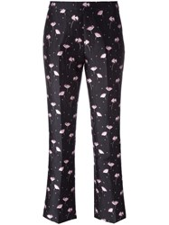Giambattista Valli Jacquard Trousers Black