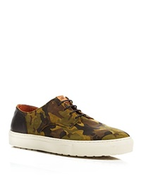 H By Hudson Vale Suede Camo Sneakers