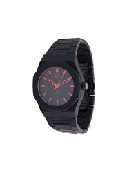 D1 Milano A Ne03 Neon Watch Polycarbonite Black