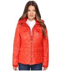 Kate Spade Quilted W Hood 24 Lollipop Red