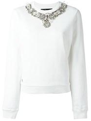 Philipp Plein 'Diamond' Sweatshirt Red