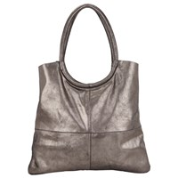 Collection Weekend By John Lewis Zohra Leather Shoulder Bag Distressed Silver