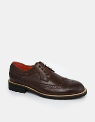 Bellfield Hannover Brogue Shoes Brown
