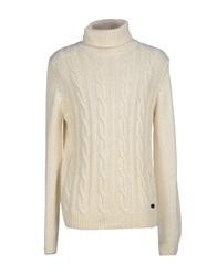 Brooksfield Royal Blue Knitwear Turtlenecks Men Beige