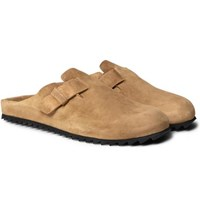 Officine Creative Agora Suede Sandals Light Brown